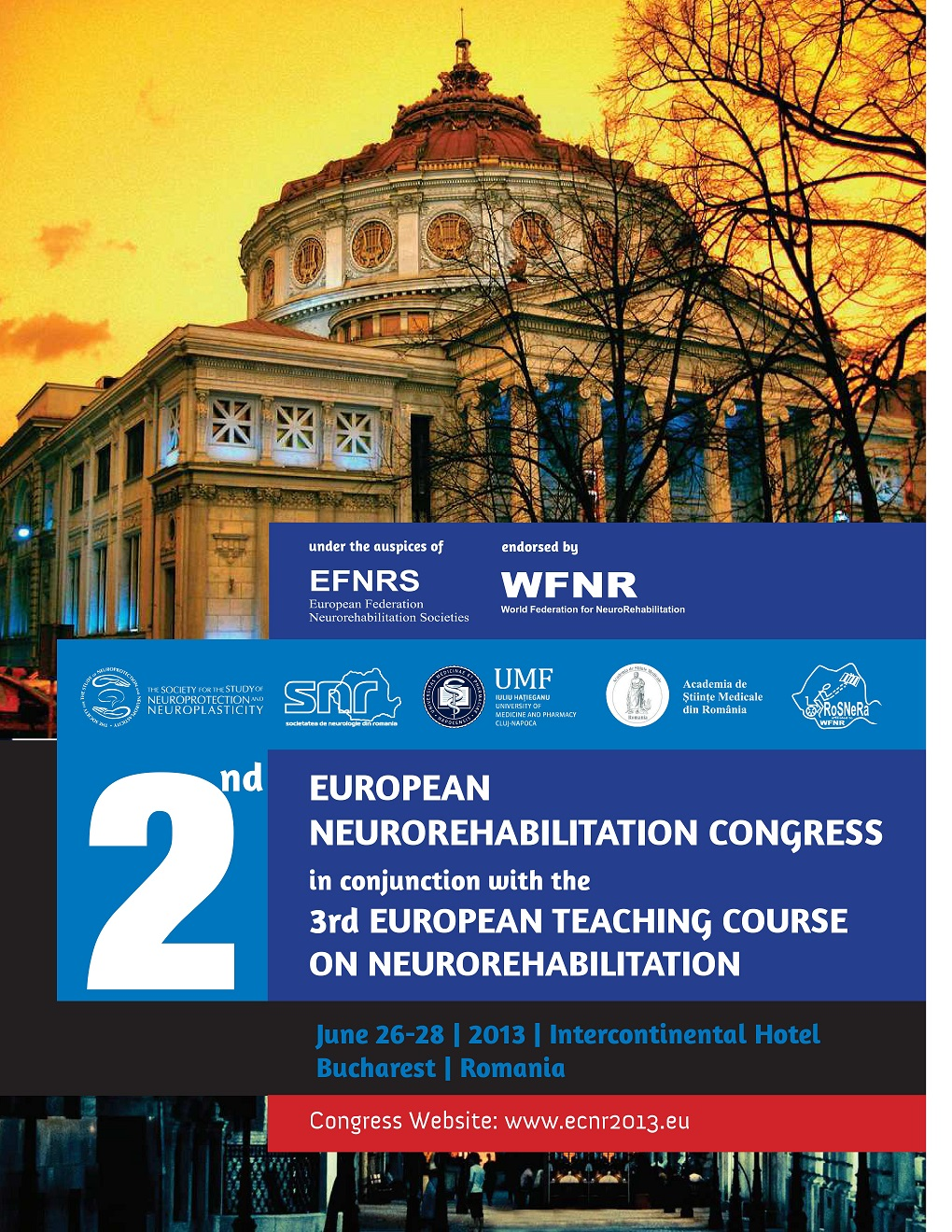 2nd EUROPEAN NEUROREHABILITATION CONGRESS