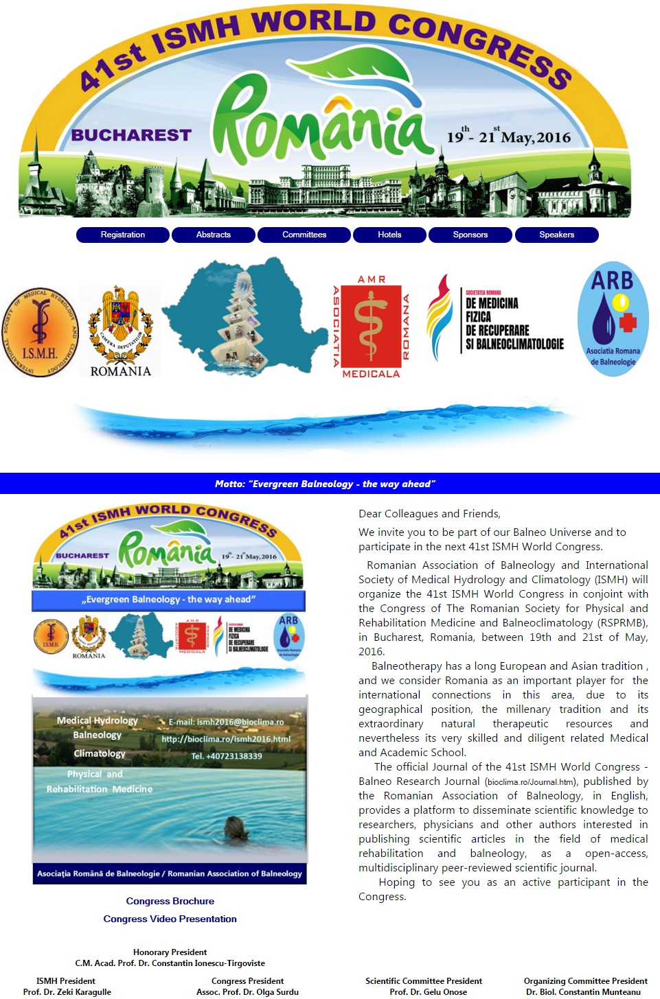 41st ISMH World Congress